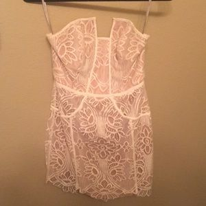 Lovers and friends white lace dress